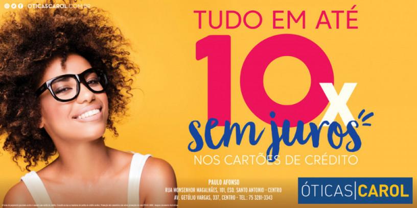 5ba7322af Óticas Carol Paulo Afonso