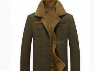 Jaqueta masculina militar forrada inverno Winter Warm