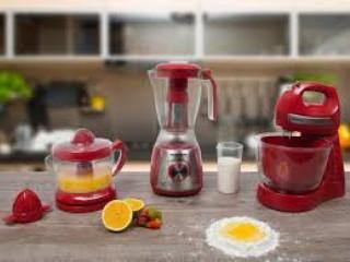 Kit Gourmet Red Premium Mondial - com Liquidificador + Batedeira + Esp