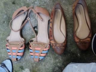 Sandalhas e salto