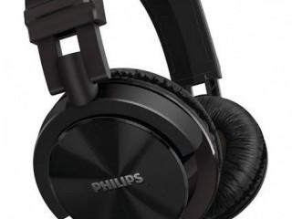 FONE PHILIPS SHL3060WT DJ NOVO BRANCO E PRETO
