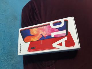 Celular A10 vermelho zero na caixa