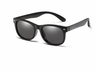 Óculos infantil flexível e polarizado com proteção uv400 + capinha de