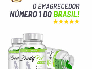 BODY FIT CAPS EMAGRECEDOR NUMERO 1 DO BRASIL
