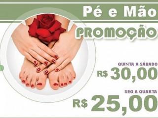 Manicure Pedicure Alongamento unhas spa pés