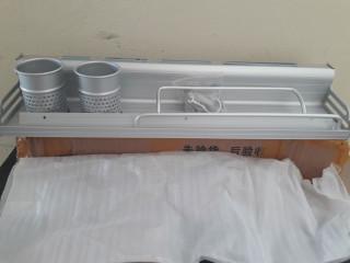 Conjunto de utensílio de cozinha em aço inoxidável