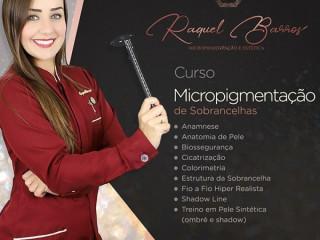 Curso de Micropigmentação de Sobrancelhas