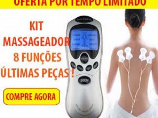 Massageador de Fisioterapia e Acupuntura Digital