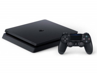 Console Lacrado  1TB Sony Playstation 4 Slim Controle Dual Shock PS4