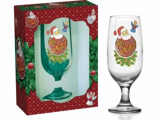 Taça Feliz Natal + Caixa presente 1494