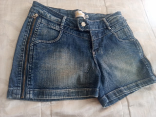 Shorts Jeans Azul 40