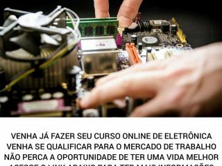 Curso online de Eletrônica