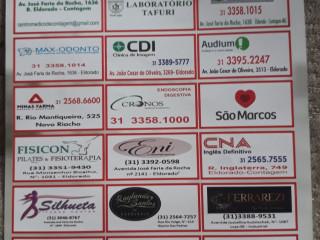 Cartão de descontos na àrea da saúde educação e lazer .
