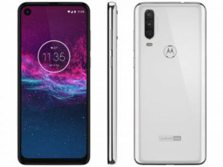 "Smartphone Motorola One Action 128GB Branco 4G - 4GB RAM 6,34"""