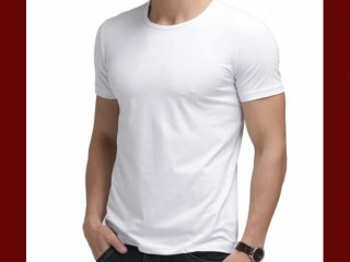 Camiseta Masculina Slim Fit Lisa