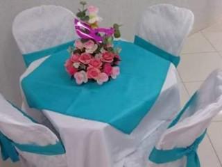 Aluguel de toalhas e capas de cadeiras para festas