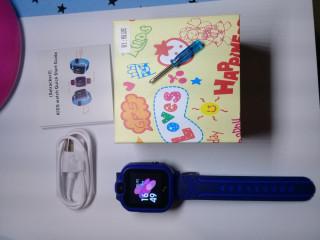 Relógio Infantil Inteligente Chamada Sos Gps Com  Camera chip app