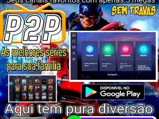 IPTV com sistema p2p anti travamento