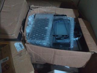 Lote de peças para manutenção de celular