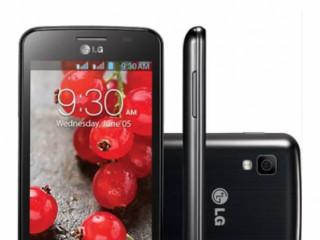 Celular LG e470F preto e em bom estado