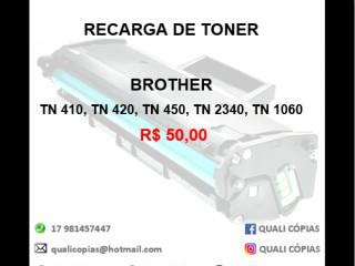 Recarga de Toner Brother