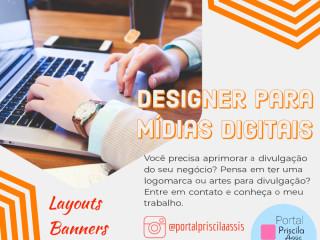 Designer para mídias digitais
