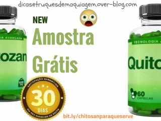 Emagreci com Quitosna - Chitosan Emagrecedor - Amostra Grátis
