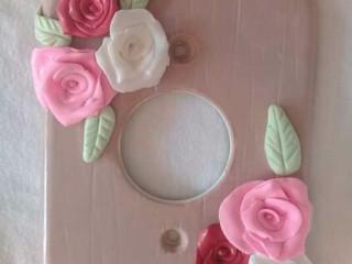 Espelhos decorativos de tomada e interupitor.