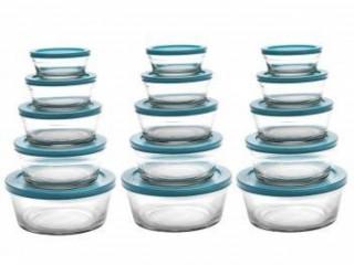 Conjunto de tigelas de vidro
