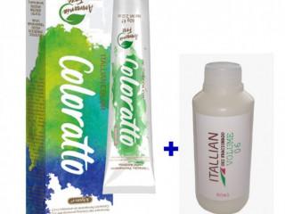 Colorato Coloração Sem Amônia + Oxi 6vol