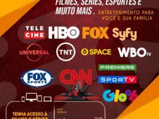 Entretenimento canais, séries e filmes