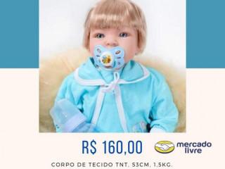 Bonecas bebê tipo Reborn