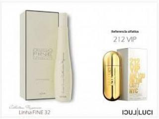"""Compartilhar:  Perfume 212 vip """"luci luci f32"""", cor Branco Fabricação"""