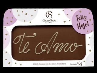 CHOCOARTE TE AMO 40G CACAU SHOW
