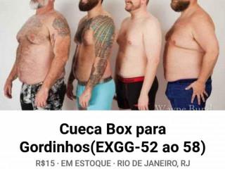 Cueca Box p/ Gordinhos - EXGG