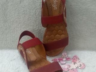 Sandálias de elásticos