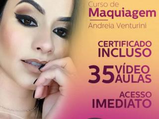 Curso Online de maquiagem com Andréia Venturini
