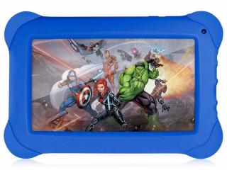 """Tablet Multilaser Disney Vingadores NB240 Azul com Tela 7"""", Memória 8G"""