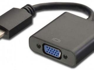 Adaptador Conversor HDMI para VGA com Áudio