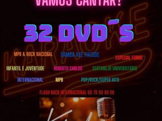 COLEÇÃO DE DVDOKÊ EM FORMATO DVD