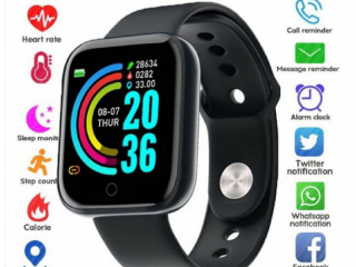 Smartwatch Y68/D20 à Prova d'Água Bluetooth USB Monitor Cardíaco