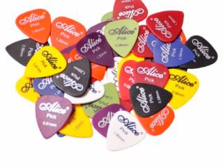 Palhetas para Guitarra Violão e Cavaco Alice kit 10 Palhetas