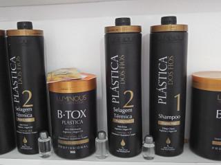 Luminous Hair Plástica Dos Fios Selagem Progressiva + Btox