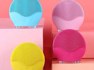 Esponja facial para limpeza de pele