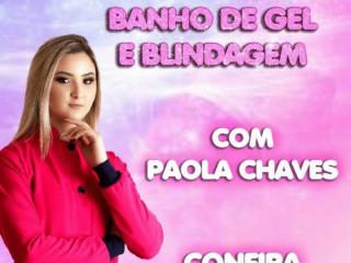 Curso Banho de Gel é Blindagem com Paola Chaves