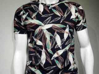 Camiseta Tropical Comfy Slim Fit, 100% Algodão