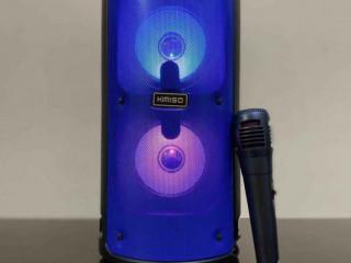Caixa de Som Torre Kimiso 6681 Com Bluetooth, Rádio FM, USB e Microfon