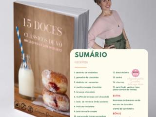 15 doces de Vó Doces inclusivos e sem mistério - e-Book