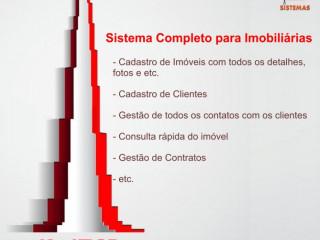 SISTEMA COMPLETO PARA GESTÃO DE IMOBILIÁRIAS