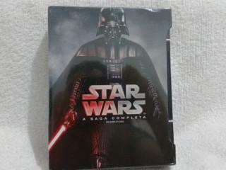 Star Wars a saga completa em Blu Ray Lacrado original